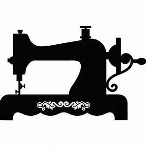 Vintage Sewing Machine Clipart - ClipArt Best