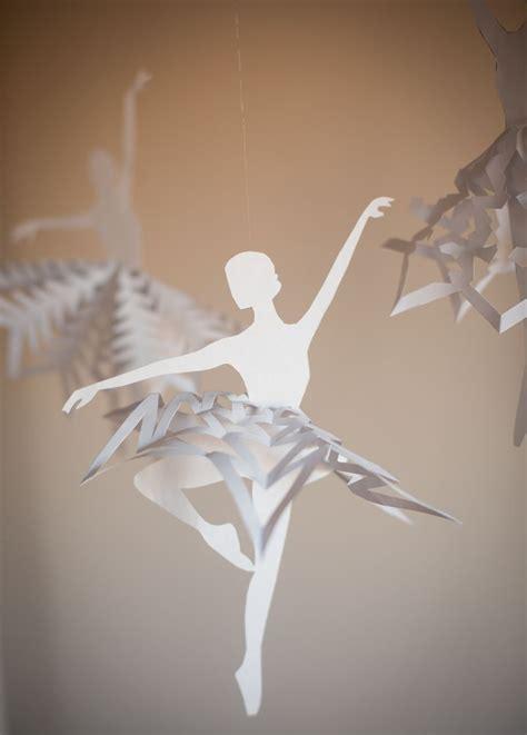diy snowflake ballerinas  printable template