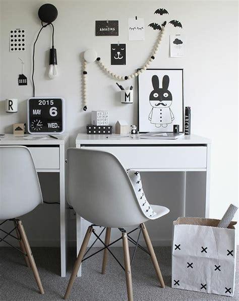 Comment Décorer Un Bureau Laqué Blanc  61 Photos Inspirantes