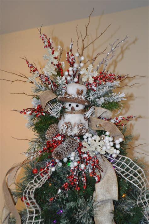 tree topper ideas rustic snowman tree topper snowman tree topper 2928