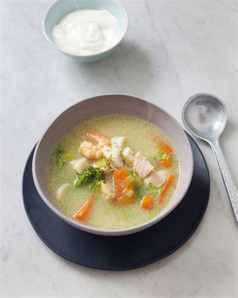 recette cuisine poisson soupe de poissons islandaise pour 4 personnes recettes
