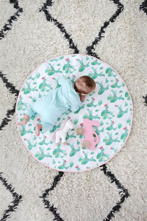 quilted play mat diy  beautiful mess