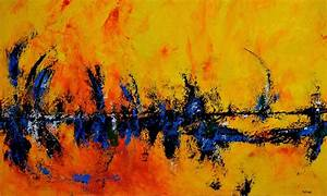 Simple Abstract Expressionist Fan & Inspired By Indian ...