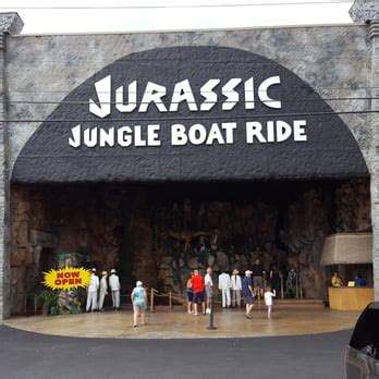 Pigeon Forge Jurassic Jungle Boat Ride Ticket Prices by Jurassic Jungle Boat Ride 28 Photos 79 Reviews