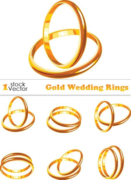 4shared gold wedding rings vector