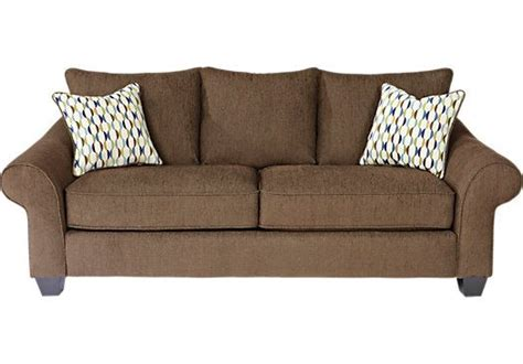 shop for a park chocolate sofa at rooms to go find