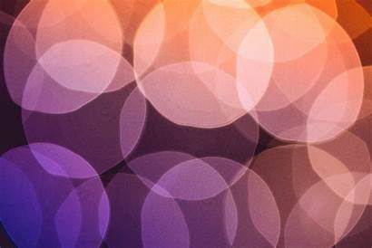 Violet Bokeh Lights Colorful Crazy Orange Abstract