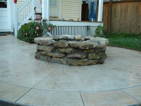 sted concrete patio cost michigan patio designs