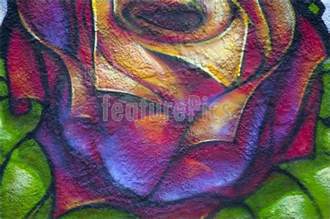 Graffiti Rose : Stock Picture I2429773 At
