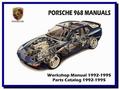 Porsche 968 Manual 1992 Parts Diagram 1995