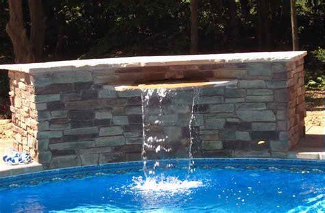 cascades waterfalls swimming pool
