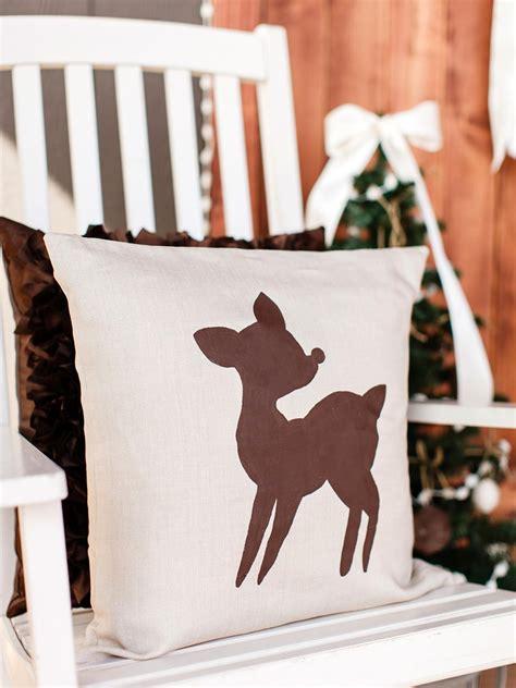 diy christmas pillows ideas hgtvs decorating design