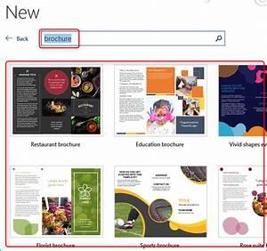 How Do You Make A Brochure In Microsoft Word How To Create A Brochure In Microsoft Word