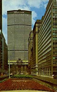 Pan Am Building New York City  Ny