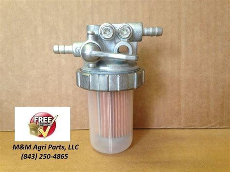 fuel filter valve assembly yanmar deere kubota massey ferguson tractor new ebay