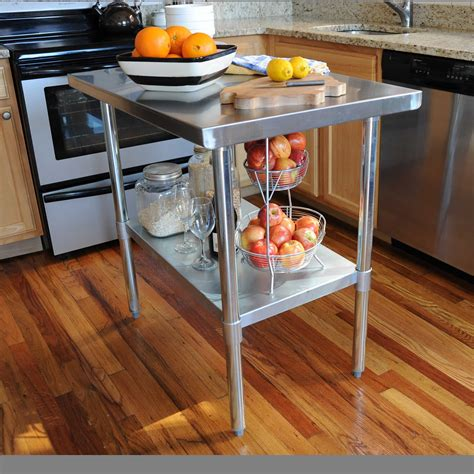 Attractive Kitchen Work Station Table Collection Including