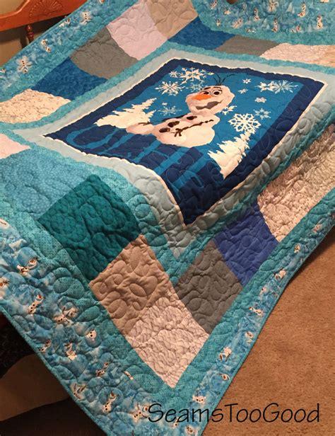 size of quilt disney s frozen size quilt olaf size quilt