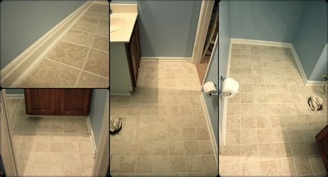 simply diy  bathroom floor part