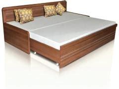spacewood metro slider bed  mattress price  india