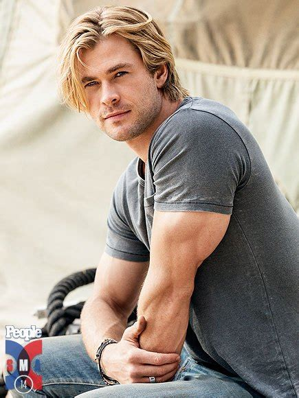 Sexiest Man Alive 2014 Chris Hemsworth, Chris Pratt
