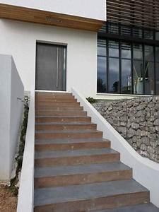comment faire un escalier en beton exterieur evtod With faire un escalier exterieur