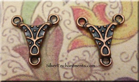 Copper Fancy Rosary Centerpiece Or Necklace Y 14x13mm