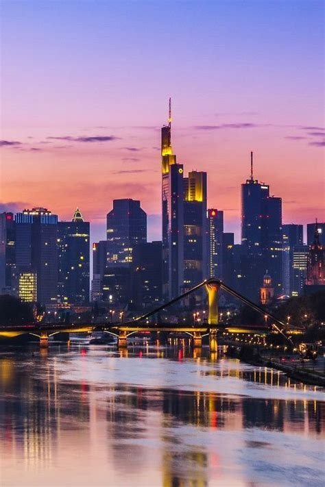 Frankfurt Skyline By Kiefer Pictures, Photos, and Images
