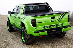 Ford F 150 Prix : geigercars garish green ford f 150 svt raptor beast edition ~ Maxctalentgroup.com Avis de Voitures