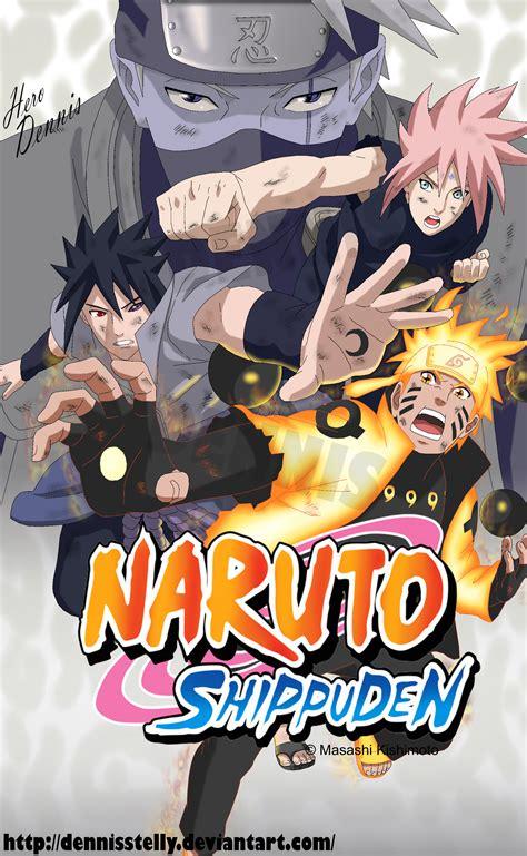 Naruto Shippuden Team 7 Last Battle By Dennisstelly On