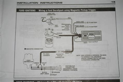 Msd Wiring Diagram Ford Auto