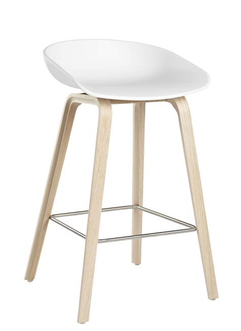 tabouret de bar about a stool aas 32 h 65 cm plastique