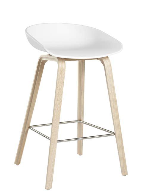 tabouret de cuisine 4 pieds tabouret de bar about a stool aas 32 h 65 cm plastique