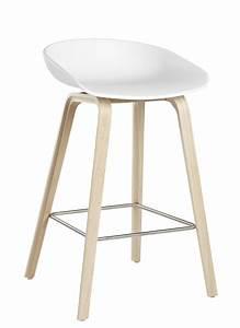 Tabouret 65 Cm But : tabouret de bar about a stool aas 32 h 65 cm plastique pieds bois blanc pieds bois ~ Teatrodelosmanantiales.com Idées de Décoration