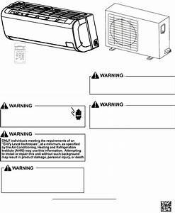 Goodman Mfg Air Conditioner 000  U002612 User Guide