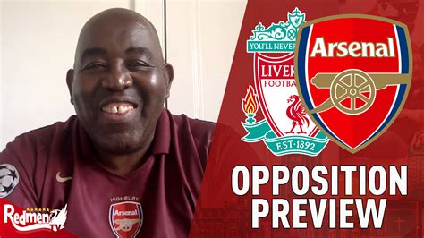 Liverpool v Arsenal | Oppo Preview | AFTV's Robbie - The ...