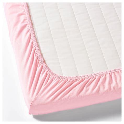 len ikea nl len hoeslaken voor babybed wit roze 60 x 120 cm ikea