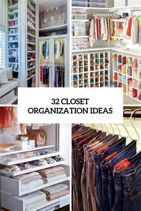 Www Closet Organizing Ideas by 32 Cool And Smart Ideas To Organize Your Closet Digsdigs