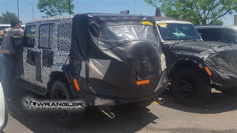 jl jeep diesel 2019 jeep wrangler diesel prototype reappears great