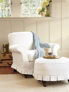 Home Furniture Decoration Slipcovers For Ottomans
