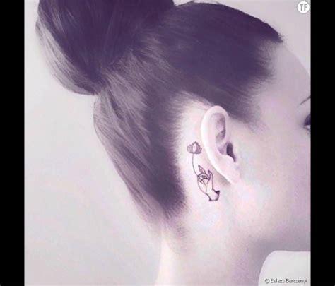 tatouage oreille