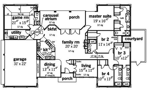 Symmetrical Home Plans  House Design Plans