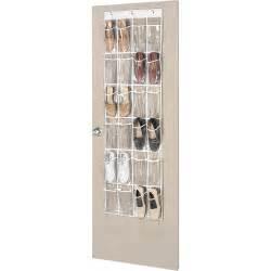 whitmor supreme white over the door shoe organizer
