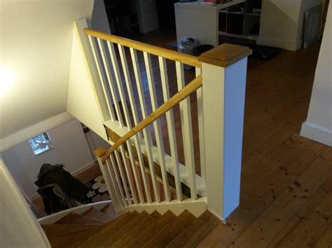 Treppengeländer Weiß Holz by Treppengel 228 Nder Aus Holz Markus K 246 Hres Ihre