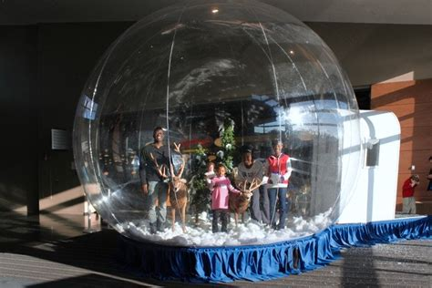 giant inflatable walk  snow globe rental national