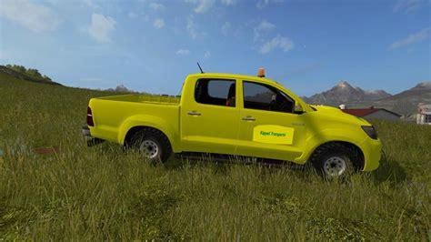 Toyota Hilux Modification by Toyota Hilux V1 1 Farming Simulator Modification