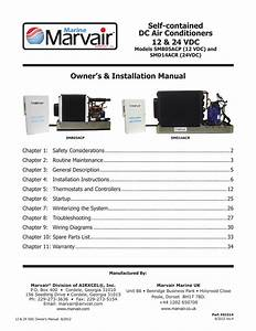 Marine Marvair Smm05acp Installation Manual