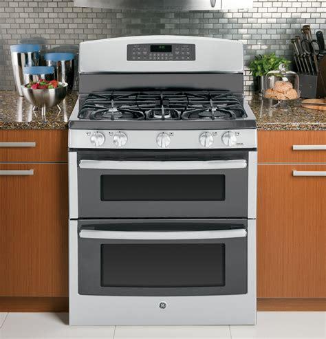 jgbsefss ge   standing gas double oven range stainless steel