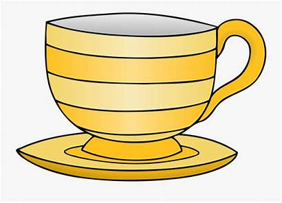 Tea Clipart Teacup Cup Crockery Transparent Line