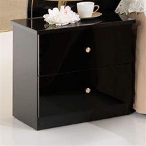 chevet noir pas cher table chevet noir pas cher