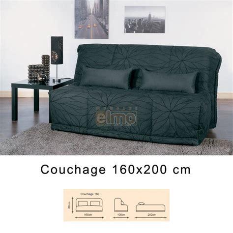 canapé bz 160 banquette lit convertible bz grand couchage 160 cm ilaria